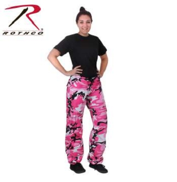 Rothco Women's Camo Vintage Paratrooper Fatigue Pants