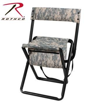 Rothco Deluxe Folding Stool With Pouch