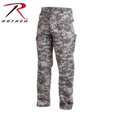 Rothco Camo Army Combat Uniform (ACU) Pants
