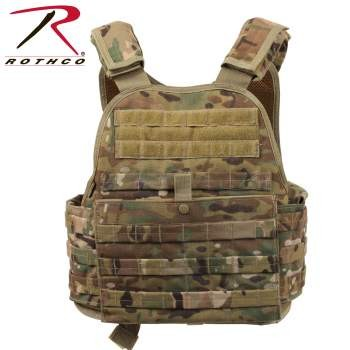 MOLLE Plate Carrier Vest-Rothco